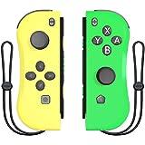 BestOff Controller per Nintendo Switch, Left e Right Controller Compatibile con Nintendo Switch Console come Joy Con…