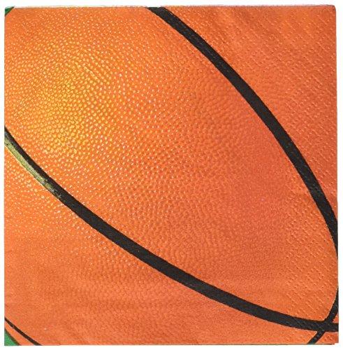 Kost-me 204751 Basketball-Fan Getr-nke Servietten