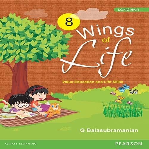 Wings of Life: Value Education Book by Pearson for Class 8
