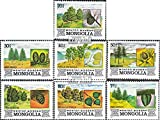 Mongolei 1489-1495 (kompl.Ausg.) 1982 Flora der Mongolei (Briefmarken für Sammler)