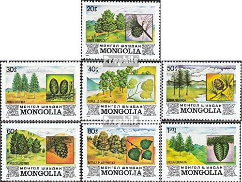 Prophila Collection Mongolei 1489-1495 (kompl.Ausg.) 1982 Flora der Mongolei (Briefmarken für Sammler) Pflanzen
