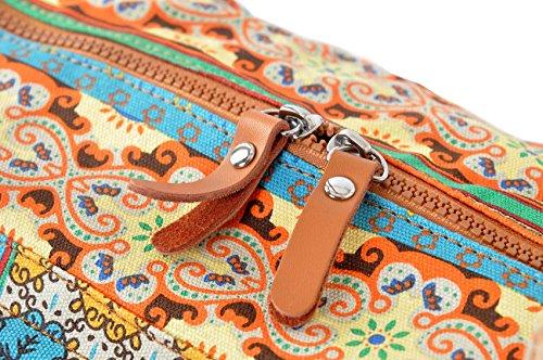 #DoYourYoga Yogatasche Damayanti Muster 1 Zipp