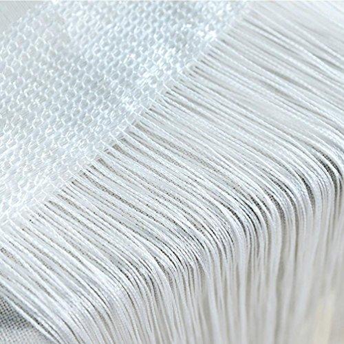 änge, String Terrasse Net Fransen für Tür Fliegengitter Trennwand auf Größe geschnitten, a, Size: 50X200cm (Wand-kunst-aufkleber Pflanzen)