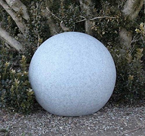 Kugelleuchte, Gartenkugel, GlowOrb stone, 38cm Ø, 10476