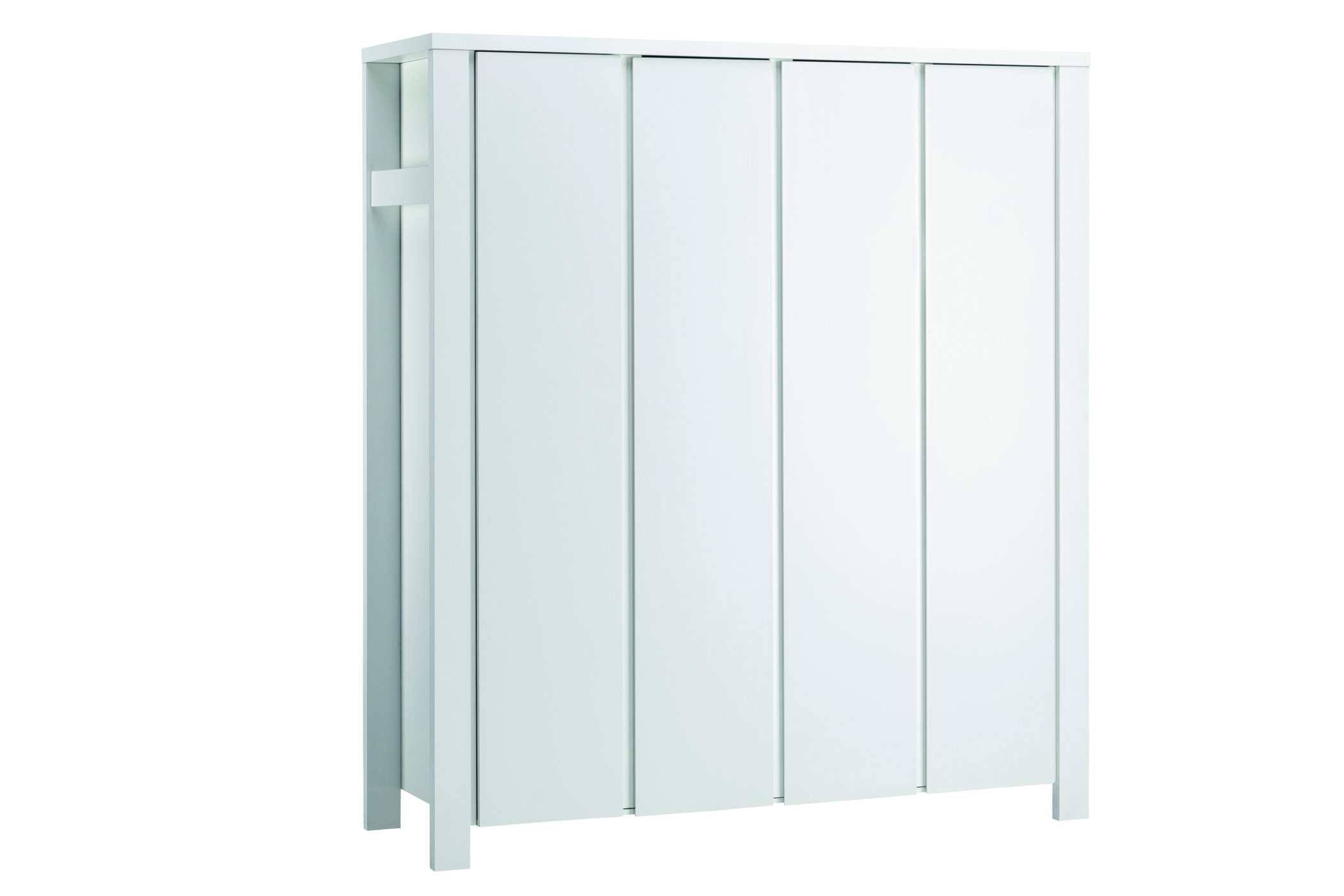 Schardt Milano 06 649 52 02 Cupboard with 4 Doors, White  GEORG SCHARDT KG - DROPSHIP