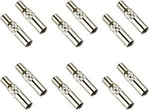 Ysister 12 Stück Ventilkappen Adapter Reifen Ventil Verlängerung Adapter Ventilkappe Universelle 39mm Reifenventilverlängerung Kappen Für Autos Motorräder Transporter Und Geländefahrzeuge Auto