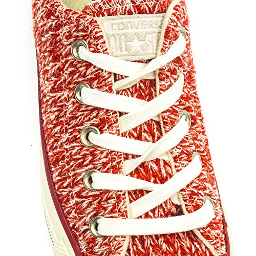 Converse, All Star OX donna Rosso (Firebrick / Egret)