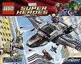 LEGO Super Heroes Quinjet Aerial Battle [6869]