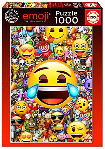 Educa Borrás - 1000 Emoji, Puzzle (17108)