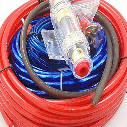 10 Gauge Wiring Kit (Universal Auto Auto Komplette Verstärker Verkabelung Kit Gauge Für Lautsprecher Subwoofers)