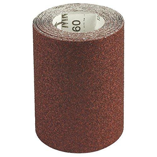 Maurer 9021360Korund Schleifpapier Rolle 115mm x 5m Körnung 80