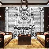 Meaosy3d wandbild dekor foto hintergrund fotografie stereo klassische architektonische skulptur luxus wohnzimmer wandbild wandbild-350x250cm