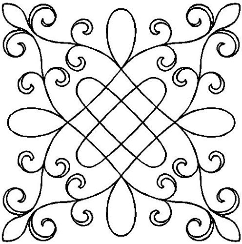 Quilting Creations Garden Gate Quilt Stencil by Quilting Creations -