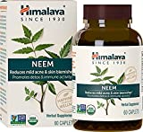 Systemic Purifier and Blood Detox Supplement - Supports Natural Cleansing of the Body - Clears Toxins and Promotes Healthy Skin - USDA Certified Organic Neem Capsules - 60 Count By Himalaya (Since 1930)