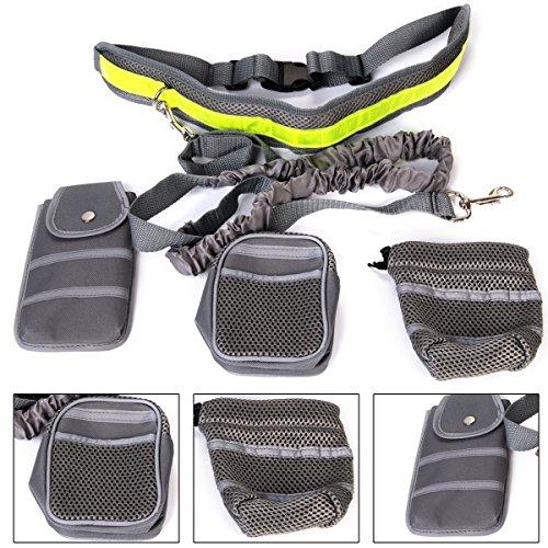 Gearmax® Jogging Kit de Tracción Slip Mascotas El Paquete Sport (Correa +...