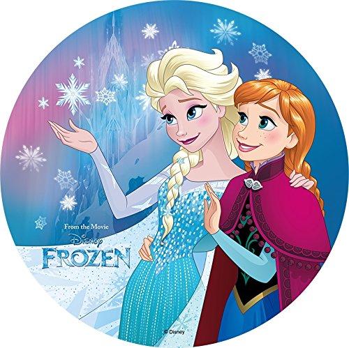 Essbarer Tortenaufleger Frozen Oblate Motiv 4 NEU