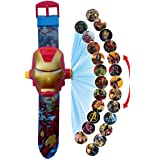 Urban Creation Irnman 24 Images Projector Digital Toy Watch with Irnman Mask Cover for Kids