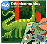 Mes Premieres Decalcomanies : les Dinosaures - De 4 à 6 ans