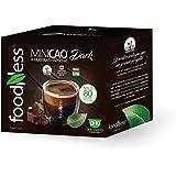 FoodNess - Capsula Minicao Dark compatibile Dolce Gusto bevanda al cioccolato fondente belga senza glutine(3 box Tot. 30 caps