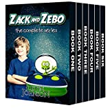 Best Chapter Books For Kids Age 8-10s - Books for Kids: Zack and Zebo: Kids Books Review