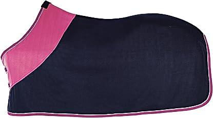 Fleecedecke, blau-pink