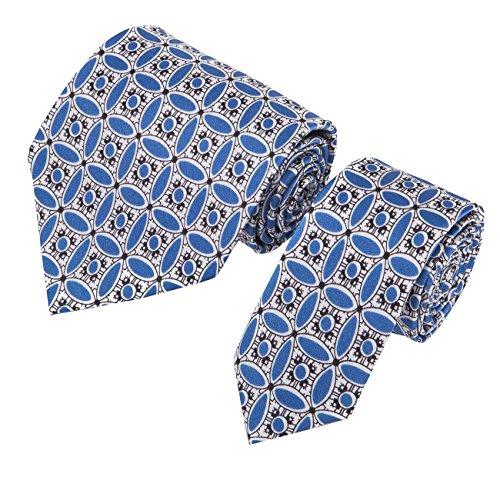 para-hombre-diseno-de-flores-theenglish-porcelana-corbata-de-seda-set-con-bolsillo-cuadrado-gemelos-