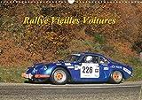 Rallye vieilles voitures : Rallye voitures des années 80. Calendrier mural A3 horizontal