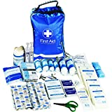JFA 170 Piece Comprehensive First Aid Kit Bag – includes Emergency blanket, Ice