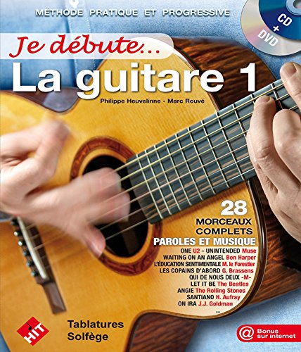 Je Debute la Guitare (Version DVD) par Collectif