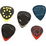DAVA Control Combo 5 Pack Méditaros pour guitare - Combi Pack avec 5 versions de Control Pick 8125
