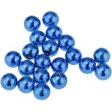 dailymall 20 PCS Monili Penetranti Bilanciere Forma di Sfere 5mm in Materiale Acciaio