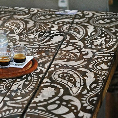 taj-mahal-indiano-paisley-wall-furniture-craft-stencil-furniture-small