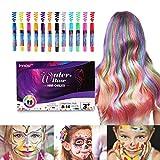Innoo Tech Mechas de Colores, Maquillaje Infantil, mechas Pelo niña,...