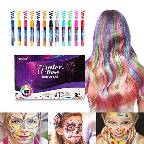 Innoo Tech Mechas de Colores, Maquillaje Infantil, mechas...