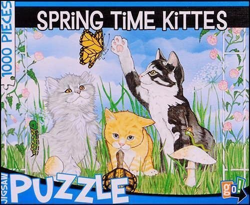 SPRiNG TiME KiTTES 1000 Piece Jigsaw Puzzle by SPRiNG TiME KiTTES Puzzle