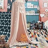 Lecho Dosel Kids Canopy para Niños y Niñas, Tienda de Campaña para Interior y Exterior, Mosquitera para Dormir, Decoración para Cama y Dormitorio