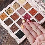Sombras de ojos IMAGIC 16 Color Shimmer Glitter Eye Shadow Paleta de...