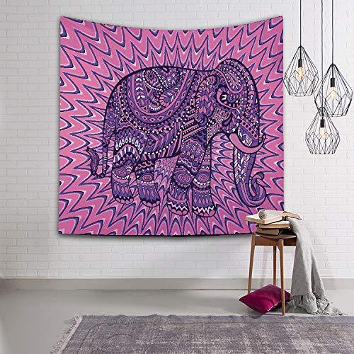mmzki Digitaldruck Tapisserie/Wanddecke/Strandtuch Elefant 4 150x102