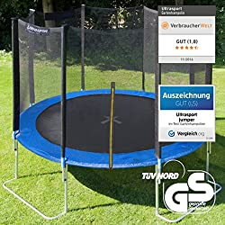 Ultrasport Jumper garden trampoline incl. safety net