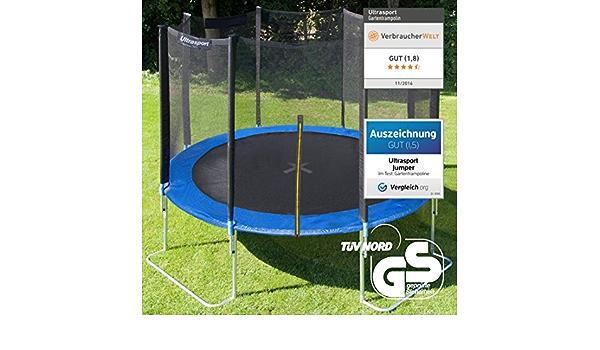 protection des ressorts pour bords de trampoline, Ultrasport Rev/êtement des bords pour trampoline de jardin Uni-Jump rembourrage de 10 mm mod/èles ult/érieurs /à juin 2015 183-460 cm