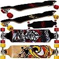 Longboard Dropdown-Bauweise ABEC 9 Lager - Komplettboard Skateboard -?Farb- & Motivauswahl?
