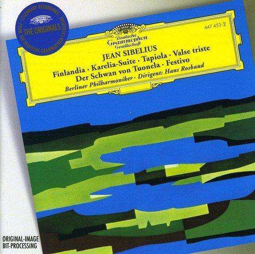 Sibelius : Finlandia - Suite Karelia - Tapiola - Valse triste - Le cygne de Tuonela - Festivo