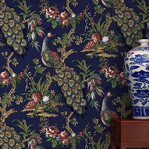 Neue Mauer Papier Vlies Wallpapers Wohnzimmer Schlafzimmer Studie Southeast asiatischen Stil Hintergrund Wand Papiertapete SJ71203