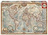 Puzzle Educa Le Monde, Carte Politique - 1500 Pièces