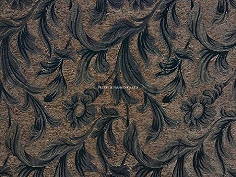 PRESTIGE Tapestry Fabric Floral Flowers Designer Upholstery Fabrics Curtains/Cushions/Roman Blinds/Duvet