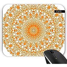 Mousepad - Stammes Mandala Orange