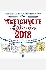 Der Sketchnote Kalender 2018 (Wandkalender) (mitp Anwendungen) Kalender