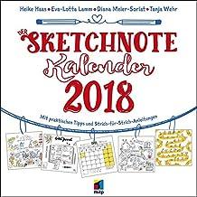 Der Sketchnote Kalender 2018: Broschürenkalender