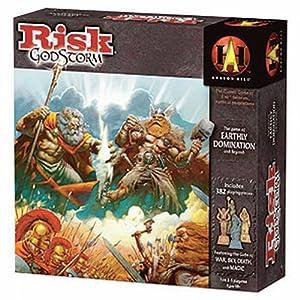 Milton Bradley Hasbro 4098337 Risk GodStorm - Juego de Mesa de Estrategia (Idioma inglés)