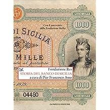 Storia del Banco di Sicilia: Con il patrocinio della Fondazione Sicilia